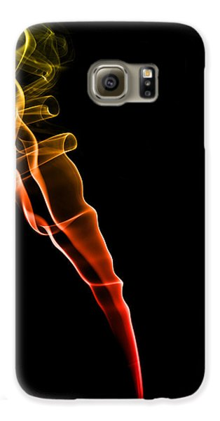Colours Galaxy S6 Case - Colourful Smoke by Samuel Whitton
