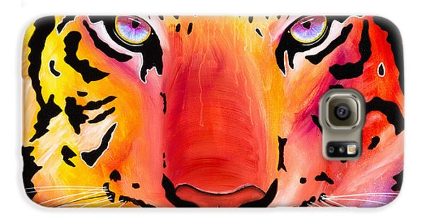 6983 Tiger Galaxy S6 Case