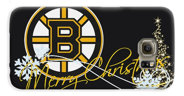 Hockey Galaxy S6 Case - Boston Bruins by Joe Hamilton