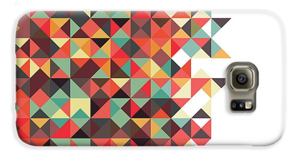 Abstract Galaxy S6 Case - Geometric Art by Mike Taylor