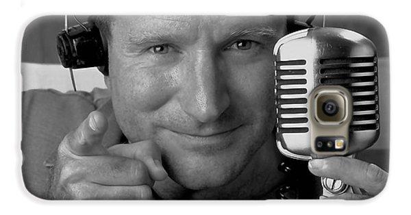 Robin Williams Good Morning Vietnam Galaxy S6 Case by Marvin Blaine