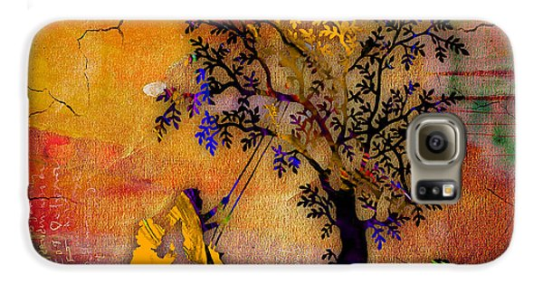 Tree Wall Art Galaxy S6 Case by Marvin Blaine