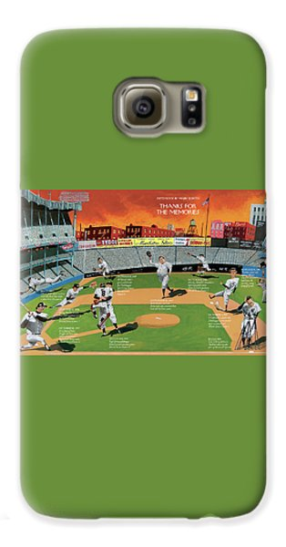 Yankee Stadium Galaxy S6 Case - New Yorker September 22nd, 2008 by Mark Ulriksen