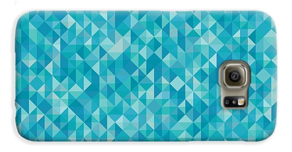 Abstract Galaxy S6 Case - Pixel Art by Mike Taylor