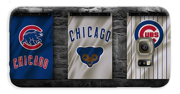 Chicago Cubs Galaxy S6 Case by Joe Hamilton