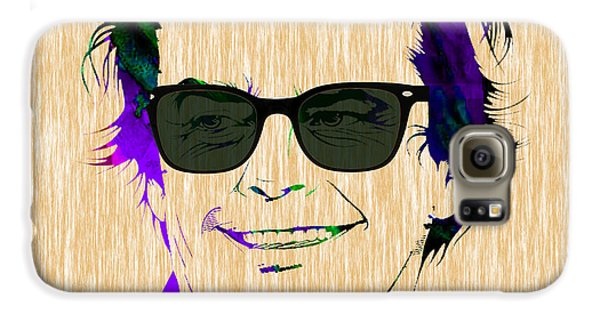 Jack Nicholson Collection Galaxy S6 Case by Marvin Blaine