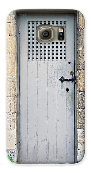 Dungeon Galaxy S6 Case - Old Door by Tom Gowanlock
