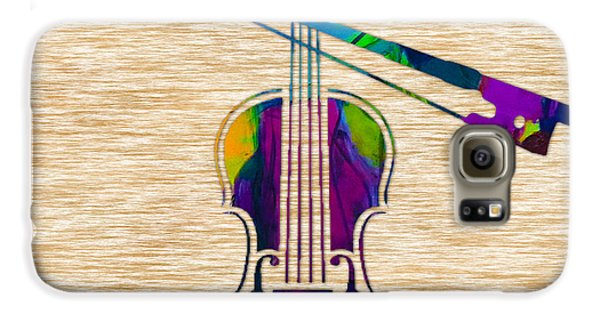 Violin Galaxy S6 Case by Marvin Blaine