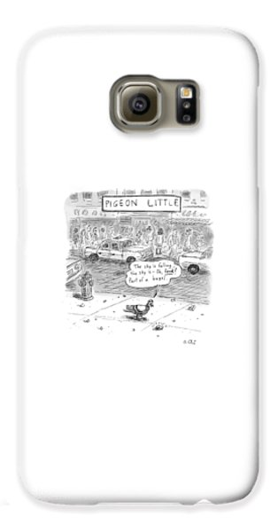 Pigeon Galaxy S6 Case - Captionless by Roz Chast