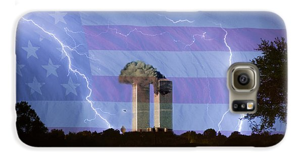 9-11 We Will Never Forget 2011 Poster Galaxy S6 Case by James BO  Insogna