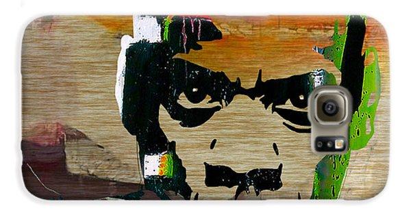 Jay Z Galaxy S6 Case by Marvin Blaine