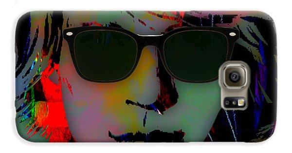Jon Bon Jovi Collection Galaxy S6 Case by Marvin Blaine