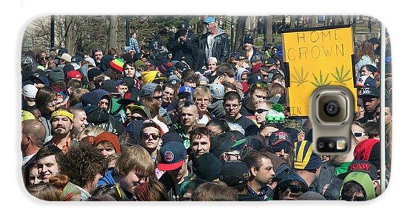 Legalisation Of Marijuana Rally Galaxy S6 Case