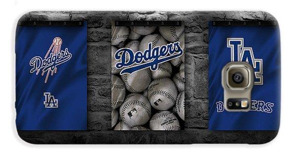 Los Angeles Dodgers Galaxy S6 Case - Los Angeles Dodgers by Joe Hamilton