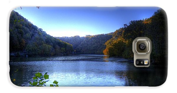 Galaxy S6 Case featuring the photograph A Blue Lake In The Woods by Jonny D