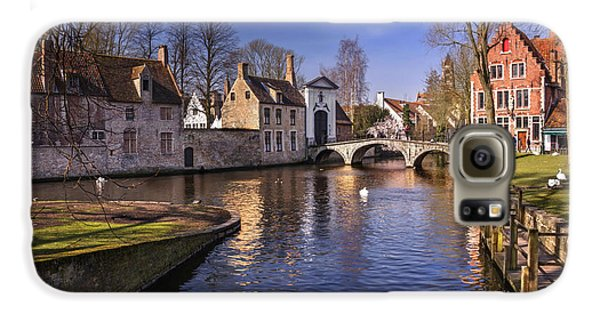 Blue Bruges Galaxy S6 Case by Carol Japp