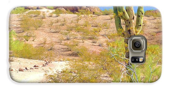 A Cactus In The Arizona Desert Galaxy S6 Case
