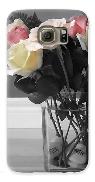 Rose Galaxy S6 Case - A Foundation Of Love by Cathy Beharriell