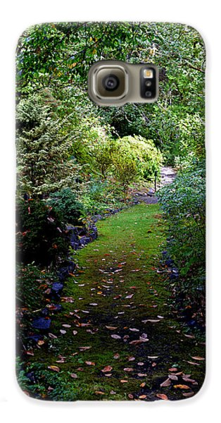 Galaxy S6 Case featuring the photograph A Garden Path by Anthony Baatz