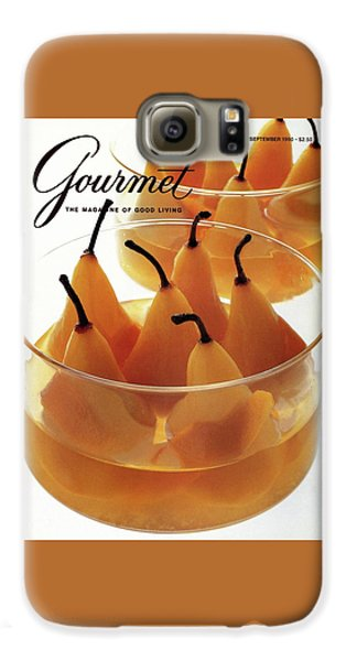 A Gourmet Cover Of Baked Pears Galaxy S6 Case