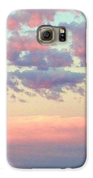 Sky Galaxy S6 Case - Summer Evening Under A Cotton by Blenda Studio