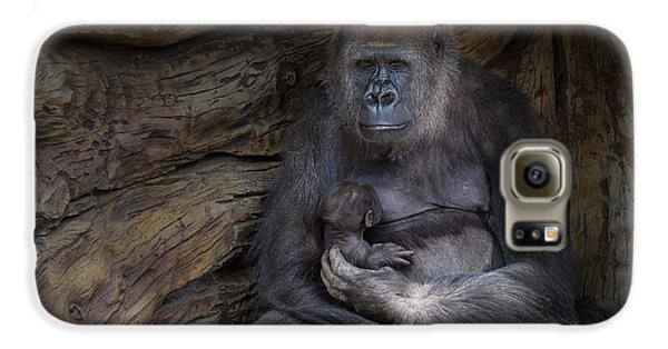 Gorilla Galaxy S6 Case - A Special Moment by Larry Marshall