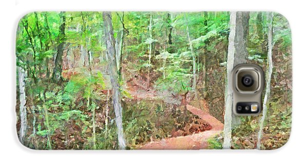 A Trail Through The Woods Galaxy S6 Case