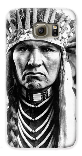 Voodoo Galaxy S6 Case - A Typical Nez Perce by Vincent Monozlay