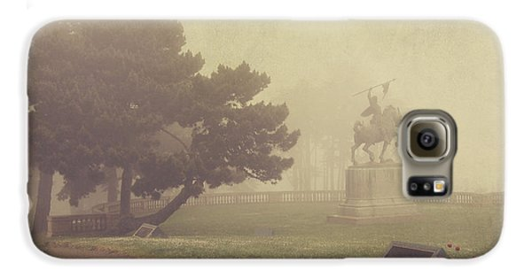 Garden Galaxy S6 Case - A Walk In The Fog by Laurie Search