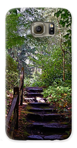 Galaxy S6 Case featuring the photograph A Wooded Path by Anthony Baatz