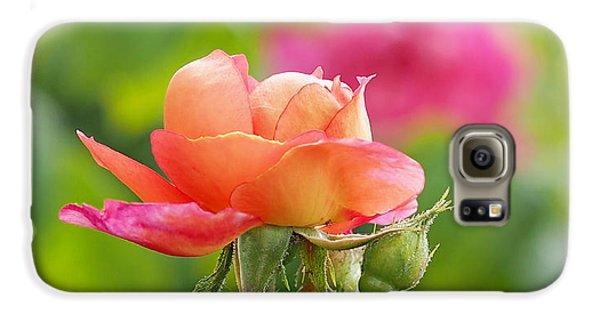A Young Benjamin Britten Rose Galaxy S6 Case