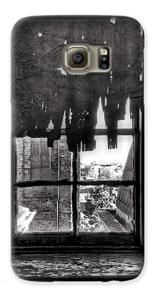 Harlem Galaxy S6 Case - Abandoned Window by H James Hoff