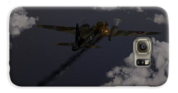 Above And Beyond - Jimmy Ward Vc Galaxy S6 Case by Gary Eason