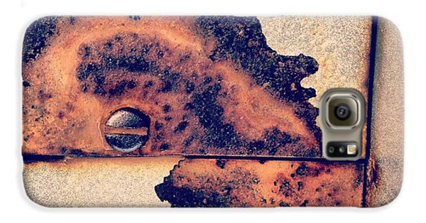 Absract Rust Galaxy S6 Case