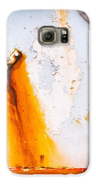 Galaxy S6 Case featuring the photograph Abstract Boat Detail by Silvia Ganora