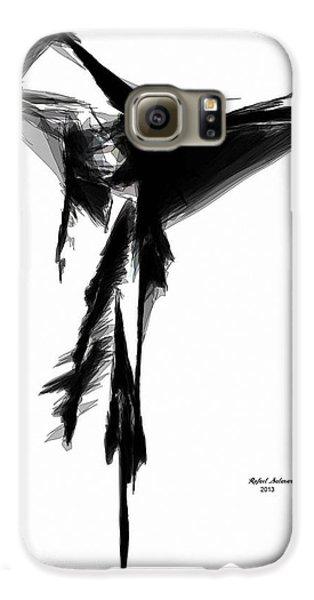 Abstract Flamenco Galaxy S6 Case