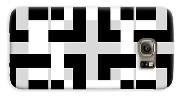 Abstract Geometric  Galaxy S6 Case by Mark Ashkenazi
