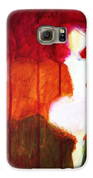 Abstract Ghost Figure No. 2 Galaxy S6 Case