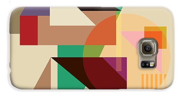 Abstract Shapes #4 Galaxy S6 Case by Gary Grayson