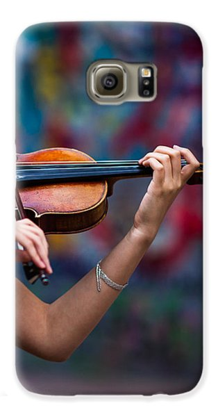 Abstracts From Vivaldi - Featured 3 Galaxy S6 Case by Alexander Senin