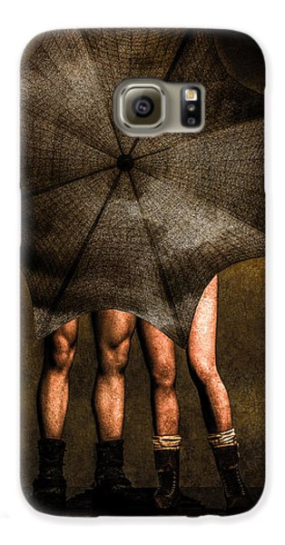 Adam And Eve Galaxy S6 Case by Bob Orsillo