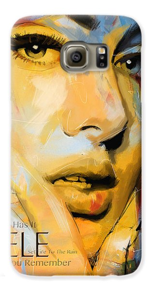 Adele Galaxy S6 Case by Corporate Art Task Force