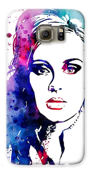 Adele Galaxy S6 Case by Watercolor Girl