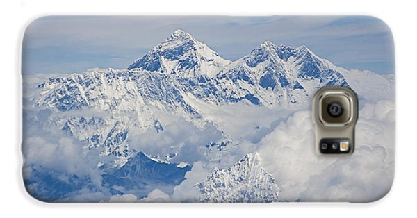 Aerial View Of Mount Everest Galaxy S6 Case by Hitendra SINKAR
