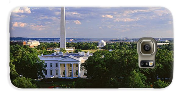 Aerial, White House, Washington Dc Galaxy S6 Case by Panoramic Images