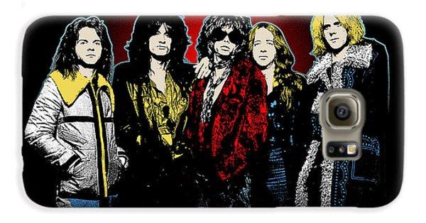 Aerosmith - 1970s Bad Boys Galaxy S6 Case by Epic Rights