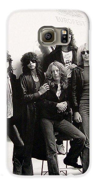Aerosmith - Eurofest Jet 1977 Galaxy S6 Case by Epic Rights