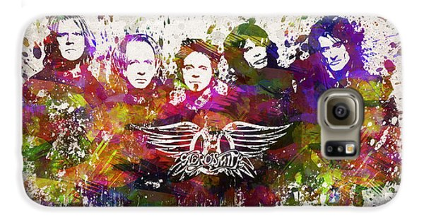 Aerosmith In Color Galaxy S6 Case by Aged Pixel