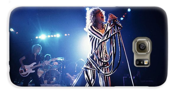 Aerosmith - Pinstripes And Love Bites 1970s Galaxy S6 Case by Epic Rights