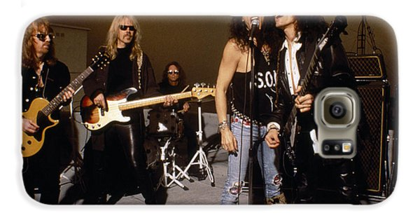 Aerosmith - Rooftop Blues 1990s Galaxy S6 Case by Epic Rights